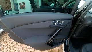 Interior traseiro Peugeot 508