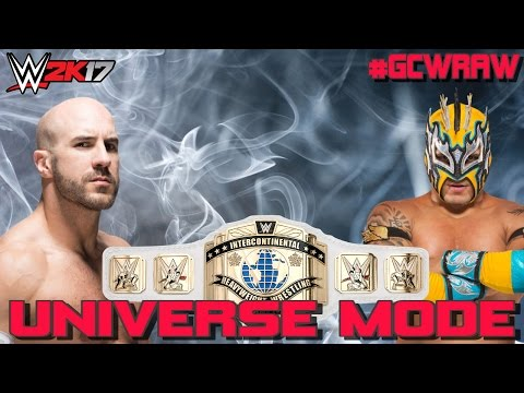 LADDER MATCH FOR THE INTERCONTINENTAL CHAMPIONSHIP! WWE 2K17 Universe Mode Episode #10