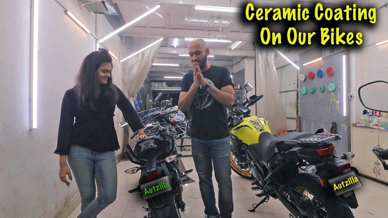 Best Ceramic Coating Studio In Mumbai For Bikes Cars Ninja 650 Vstrom650 Autzilla Youtube