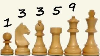 ♘ Tauschwerte der Schachfiguren & 😉 Hexeneinmaleins  - Schach-Grundlagenkurs, Folge 18