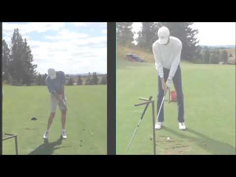 Check out this amazing golf swing transformation – Stop Casting!