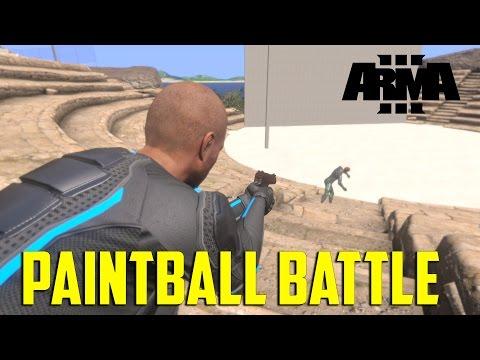 ARMA 3 Humanity - Paintball Battle