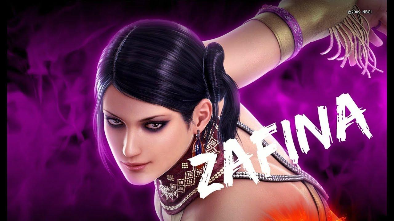 Tekken 6 Zafina Arcade Battle Youtube