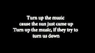 Chris Brown Turn Up The Music karaoke instrumental HQ