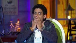 شيماء سيف تلعب مع حمدي الميرغني لعبه كلمه ونص
