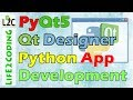 Create Python GUI Application using PyQt5 Designer with Python 3.6.3