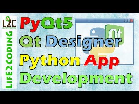 Create Python GUI Application using PyQt5 Designer with Python 3 6 3