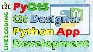 3.6.3 Python ile PyQt5 Tasarımcısı kullanarak Python GUI Uygulaması oluştur