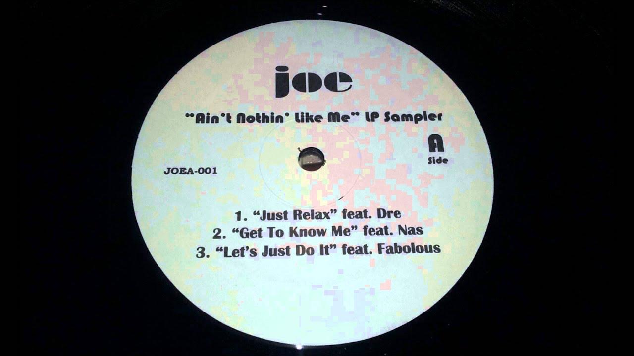 RTQ  Joe ft. Nas - Get to Know Me RTQ