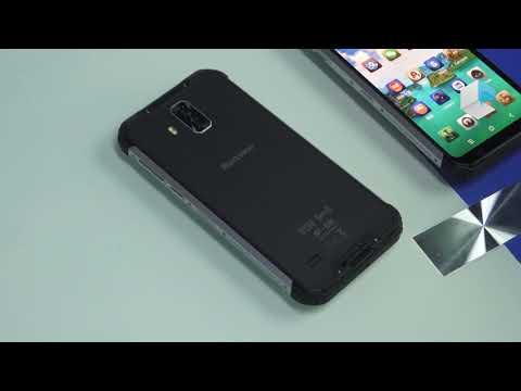 Blackview BV9600 Pro and BV9600 Plus in dispay fingerprint