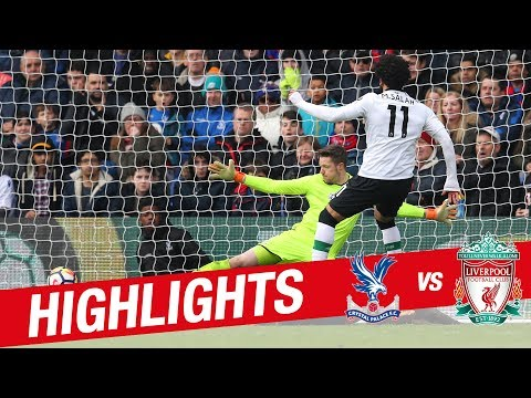 Highlights: Crystal Palace 1-2 Liverpool | Salah strikes late at Selhurst Park