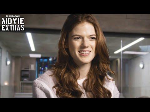 Morgan   On-set with Rose Leslie 'Dr. Amy Menser' [Interview]