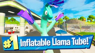 Destroy Inflatable Tubemen Llamas at Gas Stations Location - Fortnite