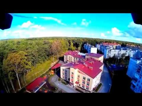 ЧКАЛОВСК КАЛИНИНГРАД 2015 Съёмка с Flying 3D X8 Quadcopter