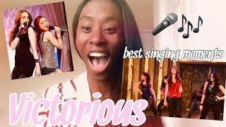 REACTING TO ARIANA GRANDE + LIZ GILLIES SINGING ON VICTORIOUS! (GIVE IT UP!) | Jhéani