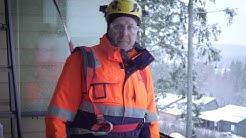 Parveke- ja terassilasiasentaja Jarmo Karsikkaan kokemuksia Lumon Suomesta työnantajana