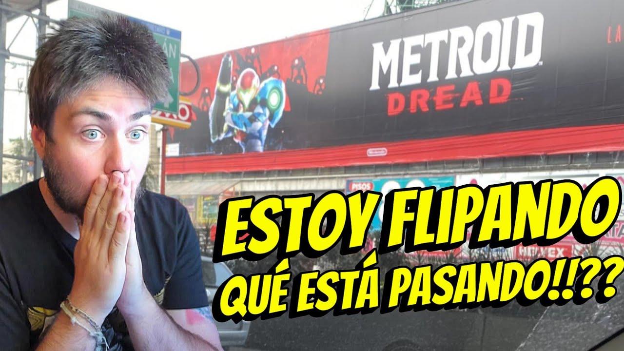 Estoy Flipando con Nintendo y Metroid Dread! SE NOS VIENE UN JUEGAZO!