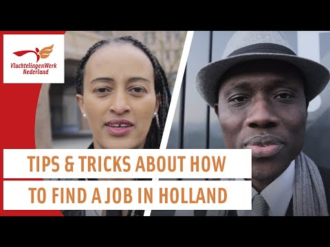 Finding A Job As Refugee In The Netherlands | Werken Als Vluchteling | VluchtelingenWerk Nederland