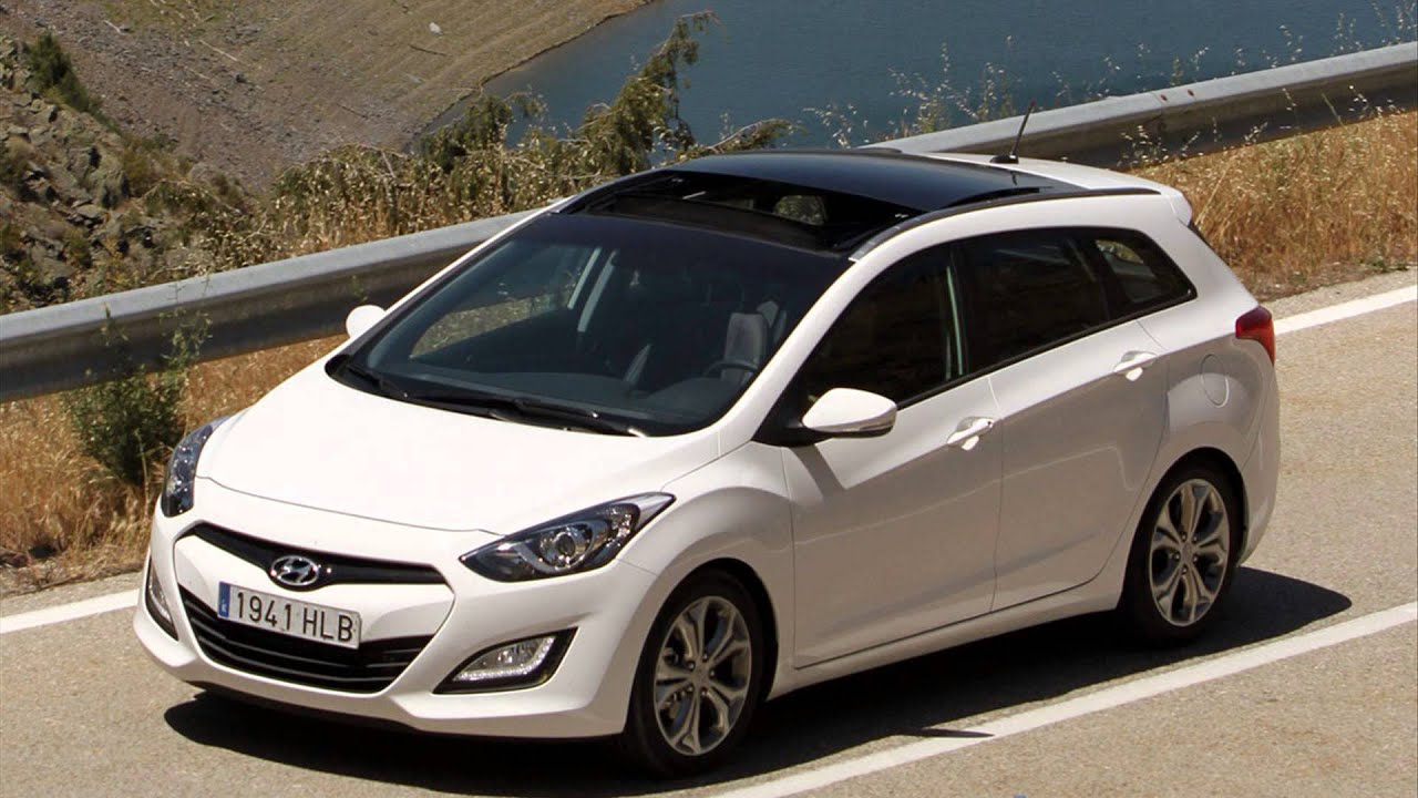 Hyundai i30 CW 2014 new auto 1080p - YouTube
