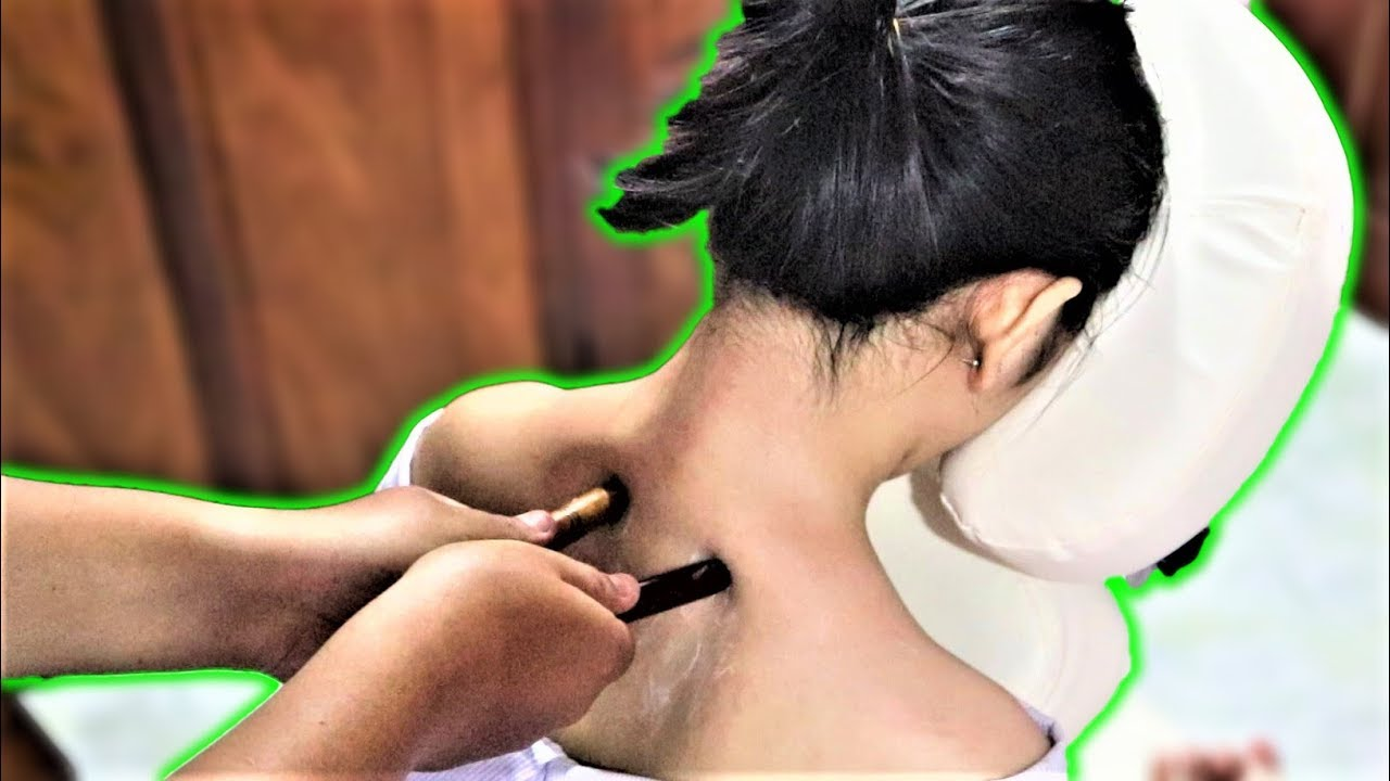 ASMR Mixed Tools Shoulder and Back Massage - Soothing Relaxing Ever