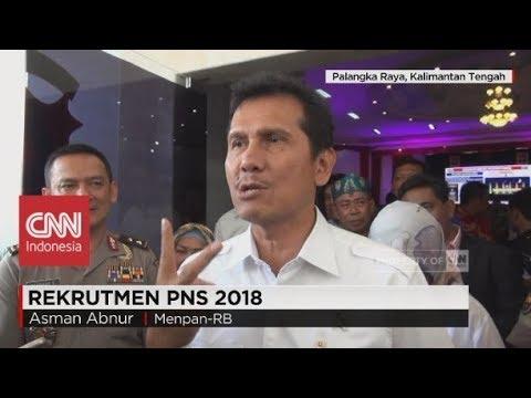 Menpan-RB: Pemerintah Pusat Akan Rekrutmen Hampir 200 Ribu CPNS Di 2018