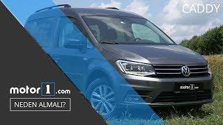 2017 Volkswagen Caddy 2.0 TDI DSG Test Sürüşü - Neden Almalı?