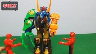 Robot siêu nhân gao chúa đánh với Batman Lego khổng lồ - siêu nhân đồ chơi trẻ em toy for kid