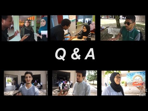 Q&A : having girlfriend/boyfriend relationship (IIUM students)