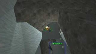 Descent 2 Level 16 - Ice Boss Fight with...only a Vulcan Cannon and Concussion Missiles?