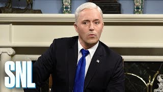 <b>Mike Pence</b> Impeachment Strategy Cold Open - SNL