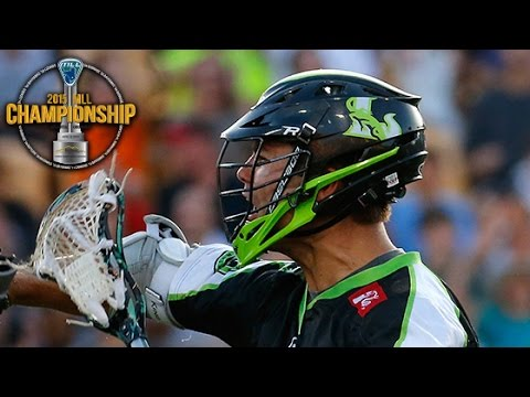 MLL Champ: Pannell BTB Feed to Palasek off Rochester Turnover
