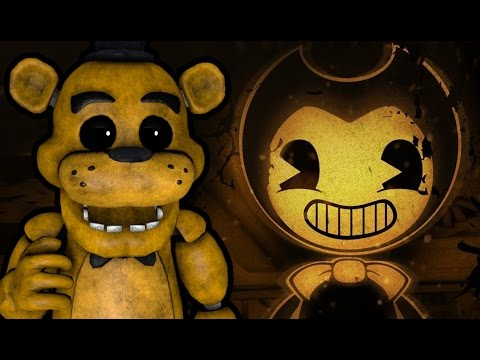 GOLDEN FREDDY PLAYS: Bendy and the Ink Machine - Chapter 1 || REMASTERED WITH NEW SECRETS!!!