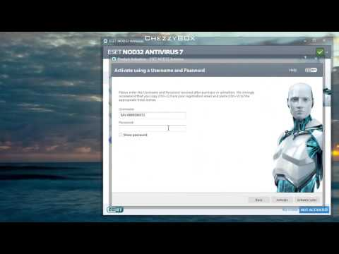 ► ESET NOD32 AntiVirus 2014 + Username & Pword For Free