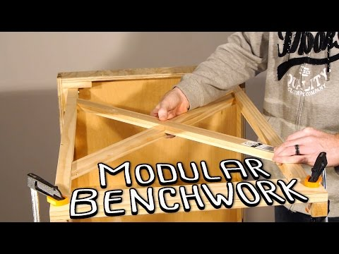 Building a Model Railway - Part 1 - Modular Benchwork