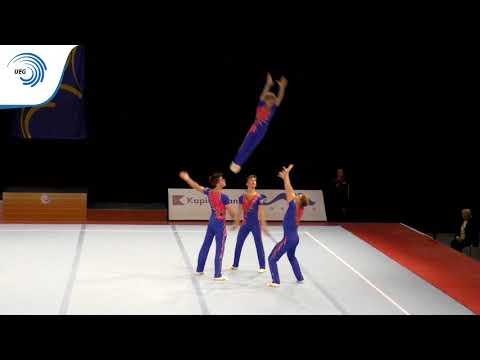 Men's group Great Britain - 2015 Acrobatic junior European Champions, Dynamic