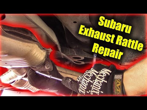 Subaru Exhaust Rattle Repair