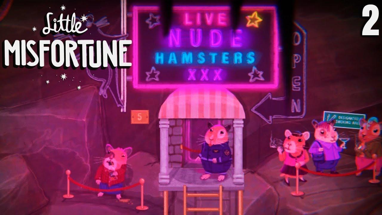 Видео Стриптиз. Little Misfortune - Хомячий Клуб 2