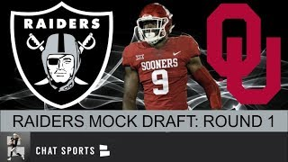 Las Vegas Raiders Mock Draft: Oakland Adds Much-Needed Wide Receiver Depth & An Impact Linebacker