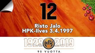 Joulukalenteri #12: Risto Jalo, pronssiottelu 1997