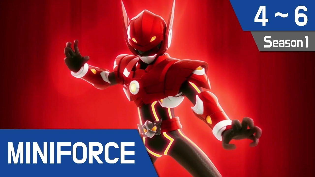 Miniforce Season 1 Ep 4 6 Youtube