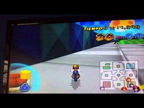 Mario Kart Wii modalidad Batalla jugando con 2 hackers