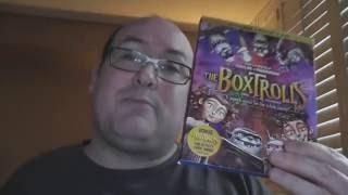 RobVlog - Unboxing the 3D blu-ray of Boxtrolls