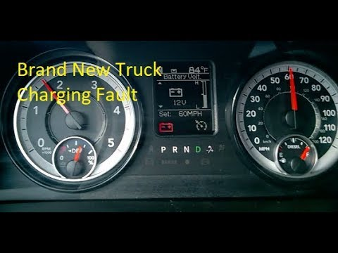 2017 RAM Cummins Low Voltage Fault Diagnose And Repair