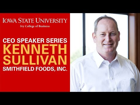"CEO Speaker Series - Kenneth Sullivan ""From Donut Salesman to CEO"""