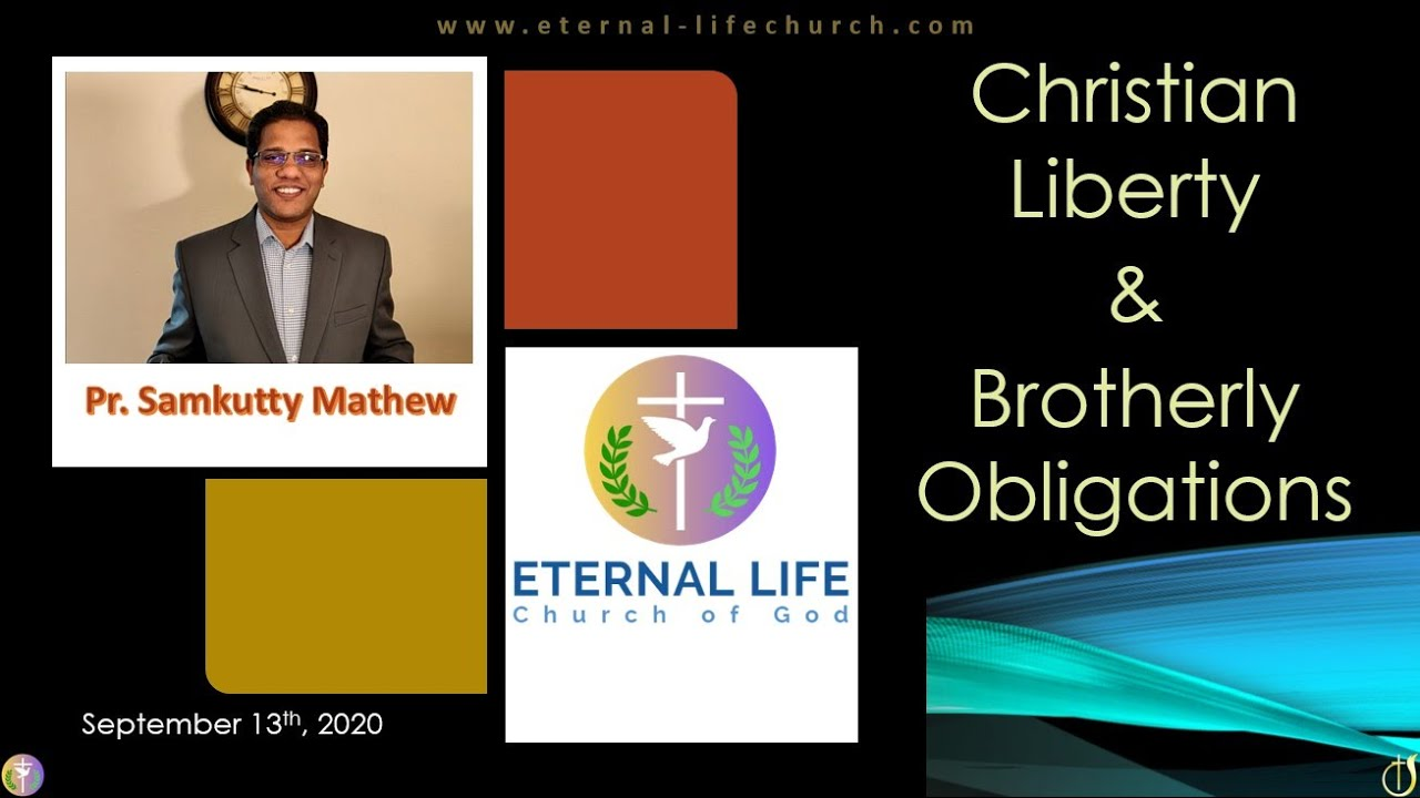 Christian Liberty and Brotherly Obligations - Part 2