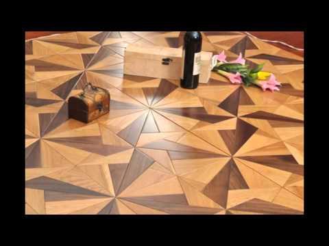 Art Parquet Mosaic Parquet Panel Wood Flooring Youtube