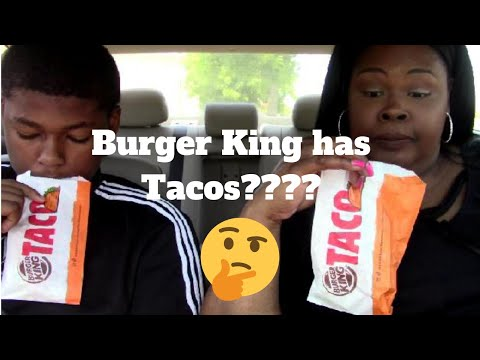 Burger King Crispy Tacos|Carbang Review
