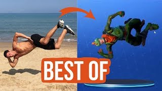 Top 10 Fortnite Dances IN REAL LIFE | patroX