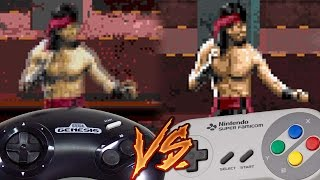 Sega Genesis Vs Super Nintendo - Mortal Kombat 3