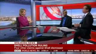 BBC News: Nigerian Farmers vs Shell Dutch Court Judgement